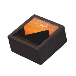 Pirámides egipcias caja de recuerdo de calidad
