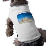 Pirámides egipcias camiseta de mascota