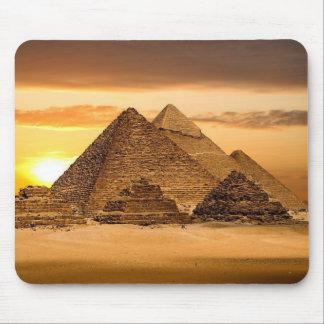 Pirámides egipcias alfombrilla de ratones