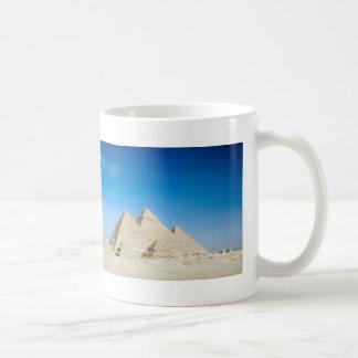 Pirámides egipcias taza de café