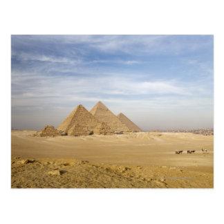 Pirámides El Cairo, Egipto Tarjetas Postales