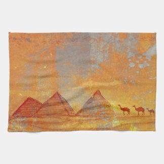 Pirámides Giza TeaTowels Toallas De Mano
