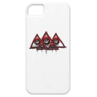Pirámides iPhone 5 Carcasas