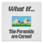 Pirámides maldecidas impresiones