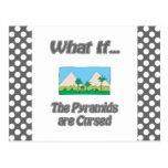 Pirámides maldecidas postales