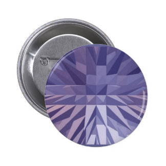 Pirámides púrpuras Pinback Pin Redondo 5 Cm