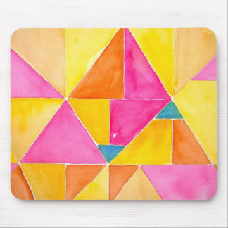 Pirámides rosadas alfombrilla de raton