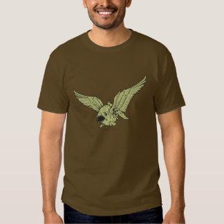 Piraña coa alas remera