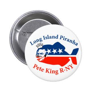 Piraña de rey Long Island de Pete Pin Redondo 5 Cm