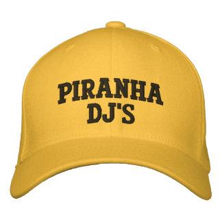 Piraña DJ (DJ cocina el casquillo) Gorras De Béisbol Bordadas