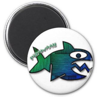 Piranaah 2 Inch Round Magnet