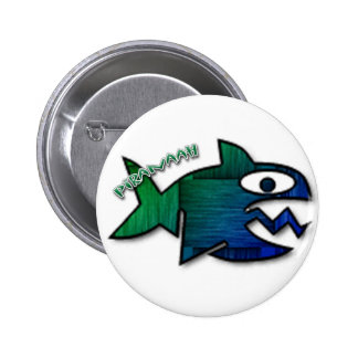 Piranaah 2 Inch Round Button