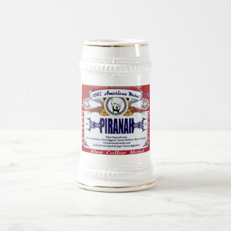 Piranah beer stein