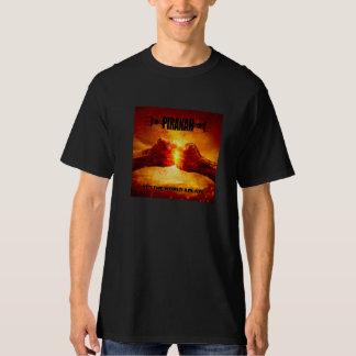 Piranah Set The World Ablaze Tshirt