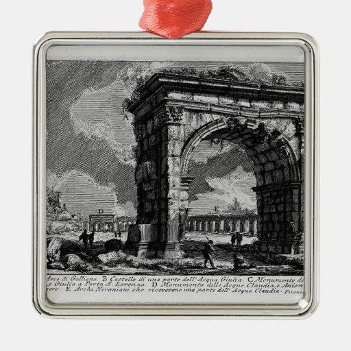 Piranesi-Arco de Juan de Gallienus Adorno