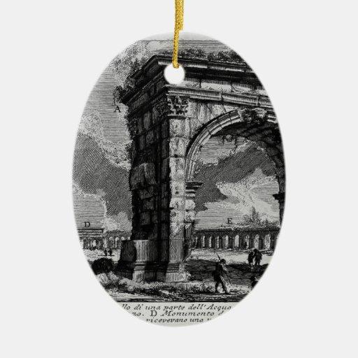 Piranesi-Arco de Juan de Gallienus Adorno De Navidad