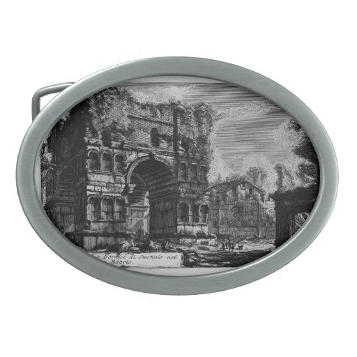 Piranesi-Arco de Juan de Jano Hebilla De Cinturon