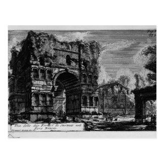 Piranesi-Arco de Juan de Jano Postales