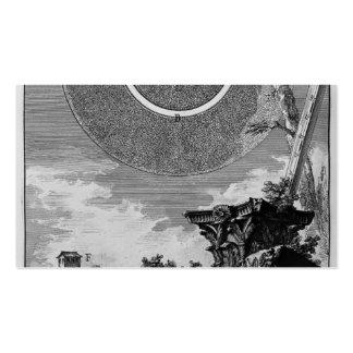 Piranesi-Fragmento de Juan del estuco de una fábri Tarjetas De Visita
