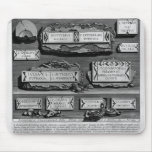 Piranesi-Inscripciones de Juan de la cámara de ent Tapete De Ratones