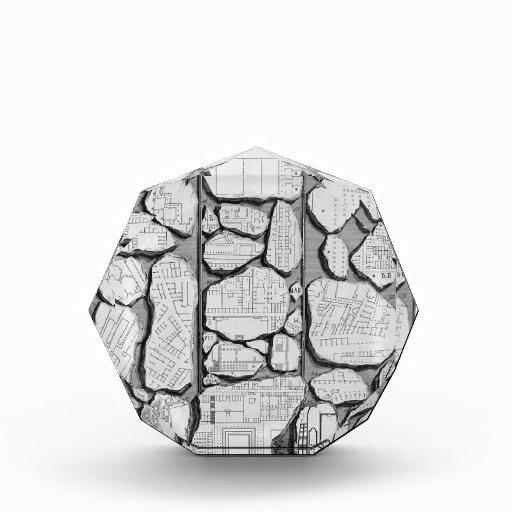 Piranesi-Mapa de Juan de Rome&Forma antiguo Urbis
