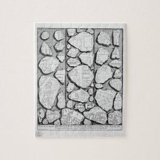 Piranesi-Mapa de Juan de Rome&Forma antiguo Urbis Puzzle