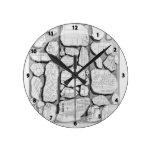 Piranesi-Mapa de Juan de Rome&Forma antiguo Urbis Reloj De Pared