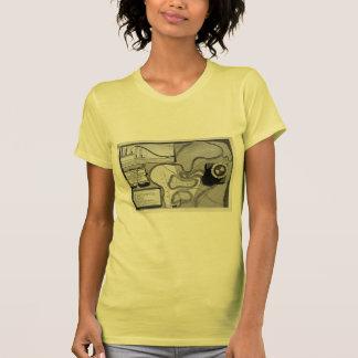 Piranesi-Placa de Juan de la topografía de Roma Camiseta