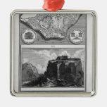 Piranesi-Plan de Juan del foro romano antiguo Ornaments Para Arbol De Navidad