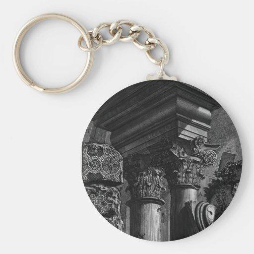 Piranesi-Restos de Juan del gran entierro del edif Llavero Personalizado