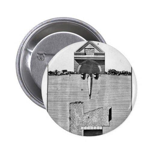 Piranesi-Vista de Juan de la parte de la cámara de Pin Redondo 5 Cm