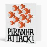 piranha attack! binder