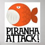 piranha attack! poster