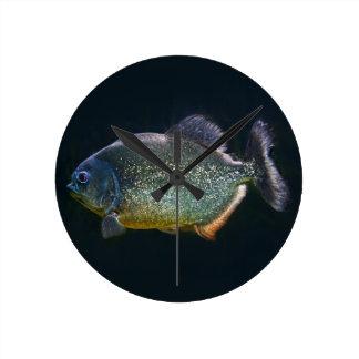 Piranha Clock
