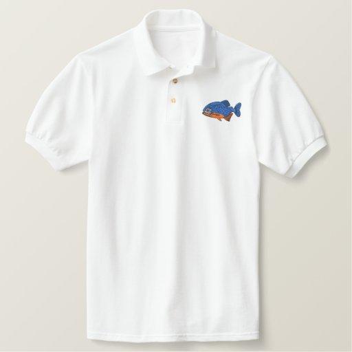 Piranha Embroidered Polo Shirt