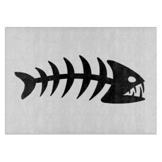 Piranha Fish Bone Cutting Board