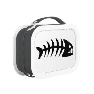 Piranha Fish Bone. Lunch Box