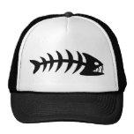 Piranha Fish Bone Trucker Hat