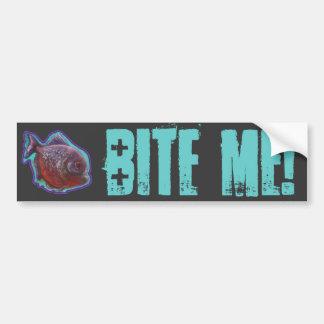 Piranha Fish Bumper Sticker