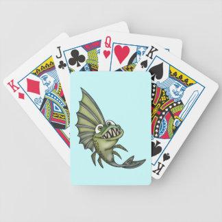 Piranha Fish Playing Cards