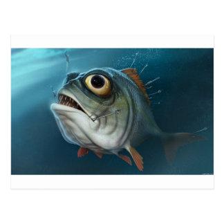 PIRANHA FISH. POSTCARD