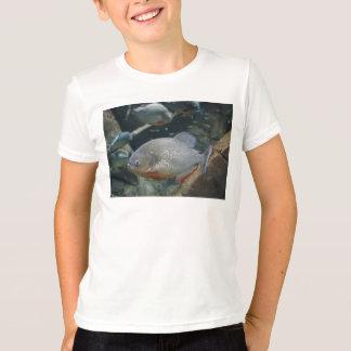 Piranha fish swimming color photograph T-Shirt