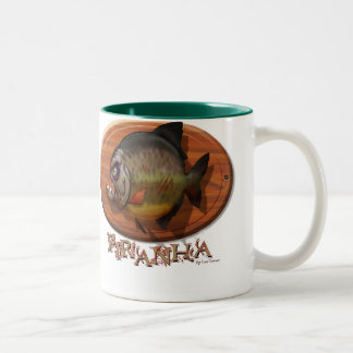 Piranha Mount Two-Tone Coffee Mug