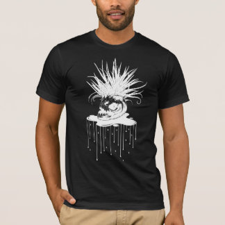 PIRANHA PLANT: WHT on BLK Series T-Shirt