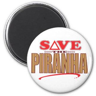 Piranha Save 2 Inch Round Magnet