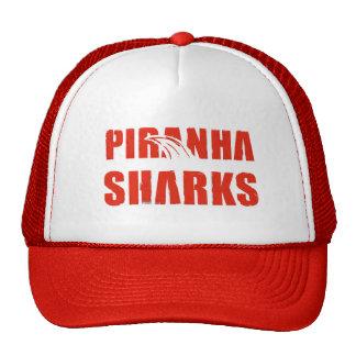 Piranha Sharks Trucker Trucker Hat
