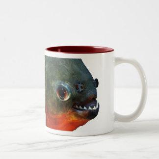 Piranha Two-Tone Coffee Mug