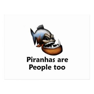 Piranhas are People too Postcard
