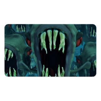 Piranhas Fish Custom Personalize Anniversaries Business Card
