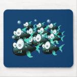 Piranhas Mousepad